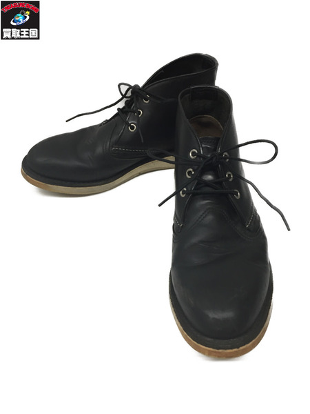 RED WING 3148 チャッカブーツ 黒 9D【中古】