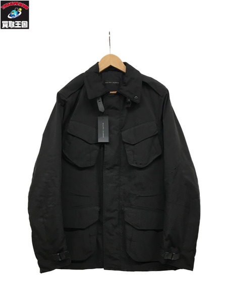 RALPH LAUREN BLACK LABEL ベルトデザイン/フロント4ポケット/ショートコート【中古】[▼]
