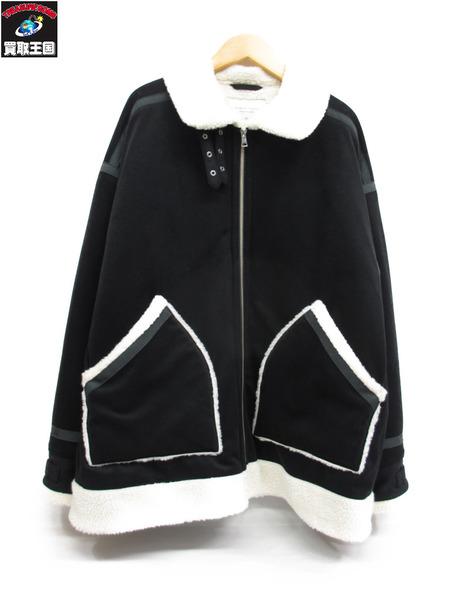 PUBLIC TOKYO インナーボアフライトジャケット(1)黒【中古】[▼]