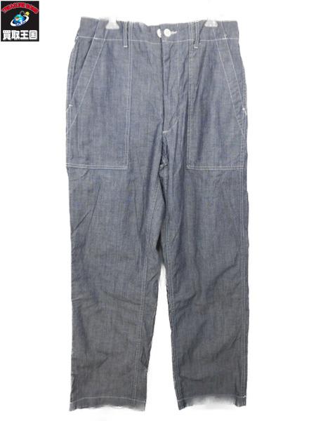 Engineered Garments Fatigue Pant Chambray  エンジニアードガーメンツ ファティーグ/シャンブレーベイカーパンツ 【中古】