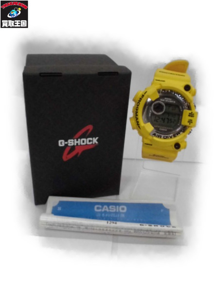 CASIO G-SHOCK FROGMAN DW-8250Y-9T【中古】[▼]