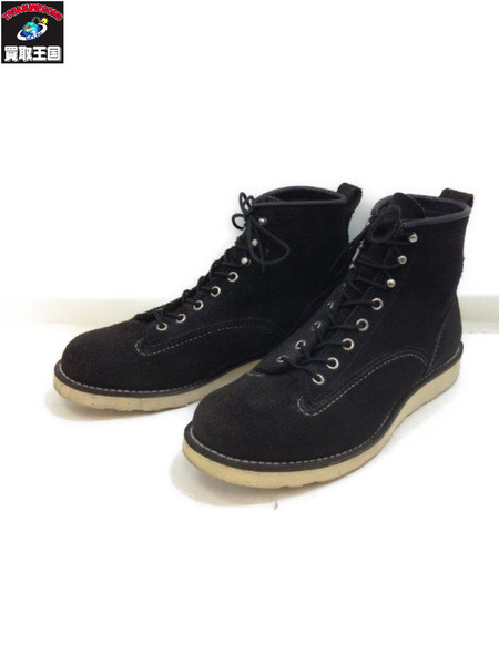 RED WING linemanboot (8.5) スウェードBLK【中古】