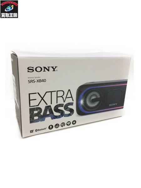 ソニー EXTRA BASS SRS-XB40 ブラック【中古】