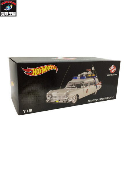 ホットウィール Hot Wheels 1/18 GHOSTBUSTERS ECTO-1【中古】