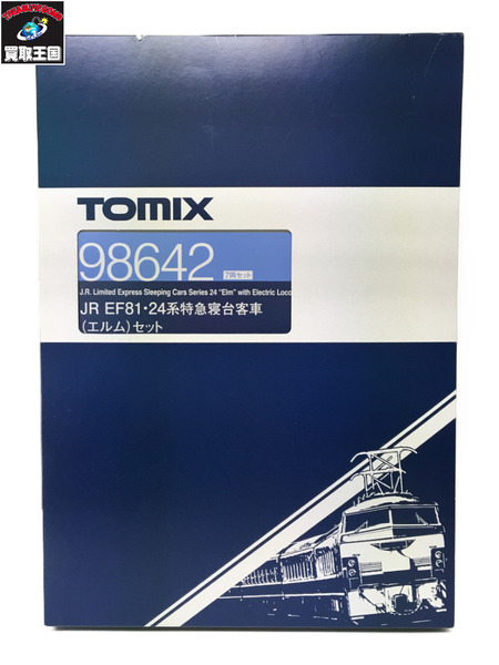 TOMIX Nゲージ 98642 JR EF81-24系 特急寝台客車 エルム セット【中古】