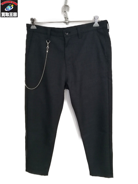 uniform experiment/19SS/CARROT FIT CROPPED PANTS/W35【中古】