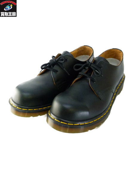 Dr.Martens/3ホールブーツ/STEEL TOE/7 ドクターマーチン 黒【中古】