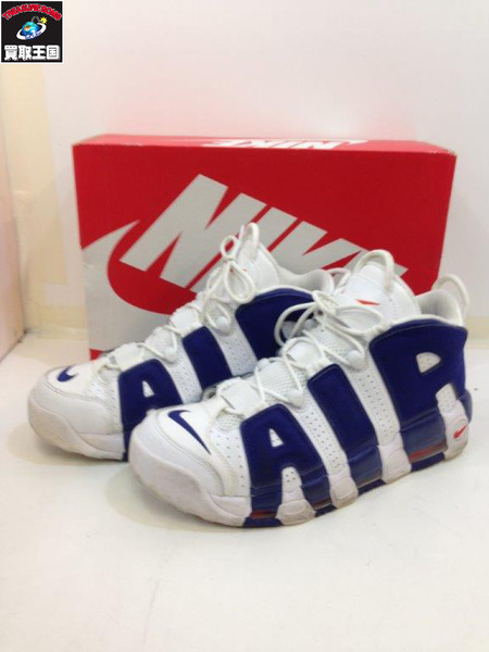 NIKE AIR MORE UPTEMPO (28.5) WHT 921948-101【中古】