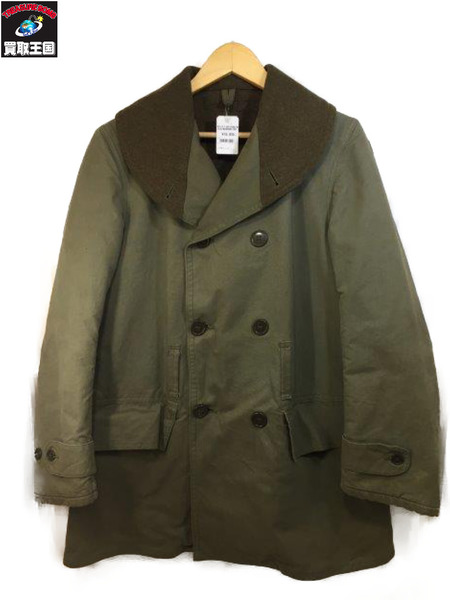 40s U.S.AIR FORCE M-1938 MACKINAW COAT (-) KHK マッキーノコート【中古】