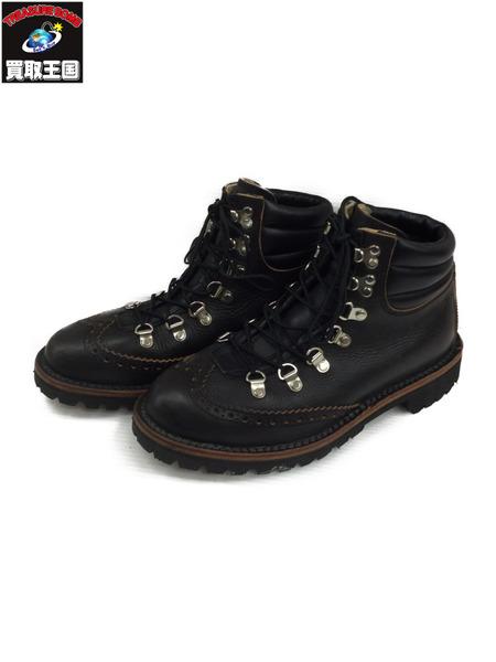 Danner ダナー BROGUE MONTAGNA/ウィングチップ/ブーツ(8 1/2) 黒【中古】