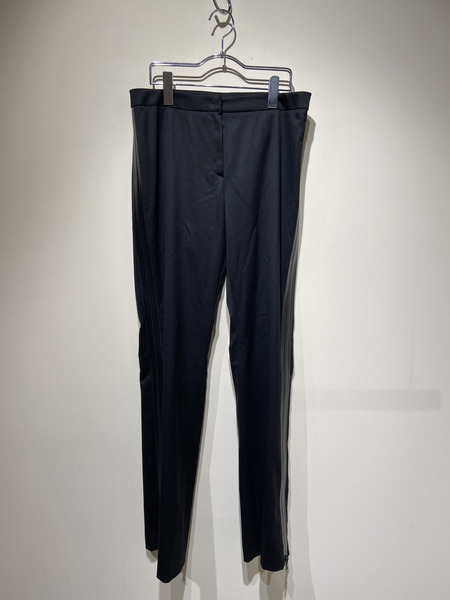 JIL SANDER/SIDE TAP ZIP PANTS/38/BLK【中古】