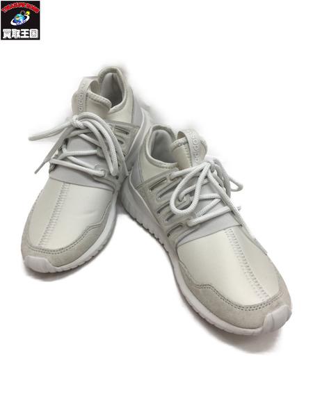adidas チューブラー 24cm 白【中古】