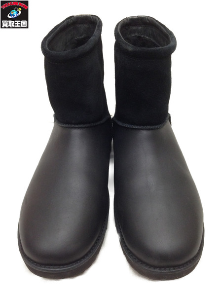 UGG M CLASSIC TOGGLE WATERPROOF ブーツ (US9) ブラック【中古】