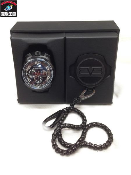 BOMBERG クォーツ クロノグラフ腕時計 BS45CHPBA【中古】