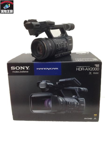 SONY デジタルHDビデオカメラレコーダー HDR-AX2000【中古】[▼]