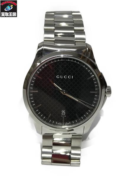 GUCCI グッチ Gタイムレス QZ腕時計 126.4【中古】[▼]