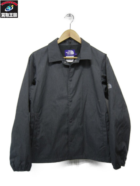 THE NORTH FACE PURPLE LABEL 65/35コーチジャケット グレー S【中古】