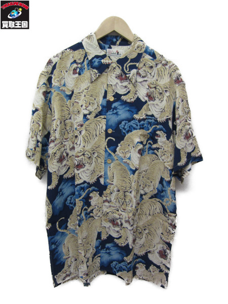 SUN SURF SPECIAL EDITION 百虎 青 L【中古】