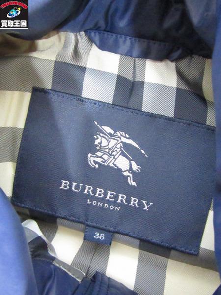 BURBERRY ダウンベスト ネイビー 38 バーバリーfY6gby7