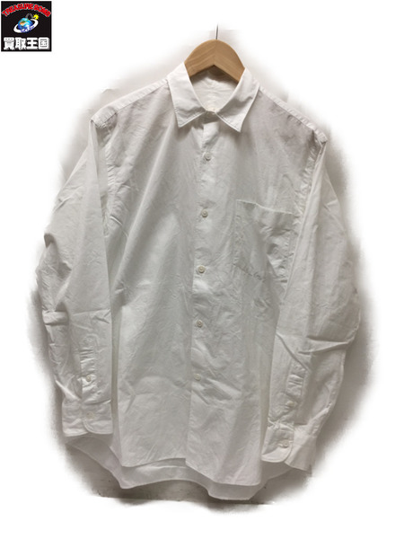 COMOLI 16SS レギュラーカラーシャツ WHT Size1【中古】