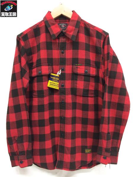 TOYS McCOY ブロックチェックネルシャツ サイズ15【中古】