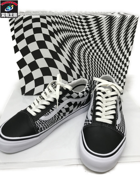 VANS×END CLOTHING OLD SKOOL LX VERTIGO 27.5?【中古】
