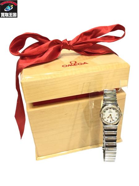 OMEGA/オメガ/コンステレーションミニ・マイチョイス・12Pマルチストーン/1365.79/仕上げ済 レディースウォッチ 腕時計【中古】