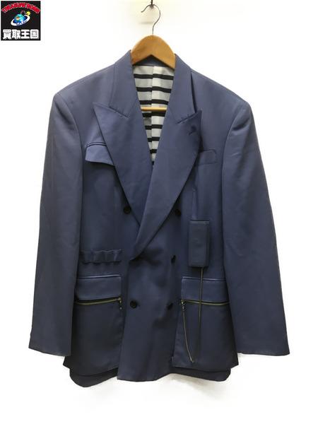 90s JEAN-PAUL GAULTIER ダブルジャケット (48)【中古】[▼]