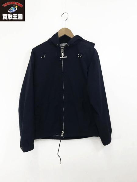 MIGHTY-MAC 日本製ボートジャケット(M)ネイビー【中古】