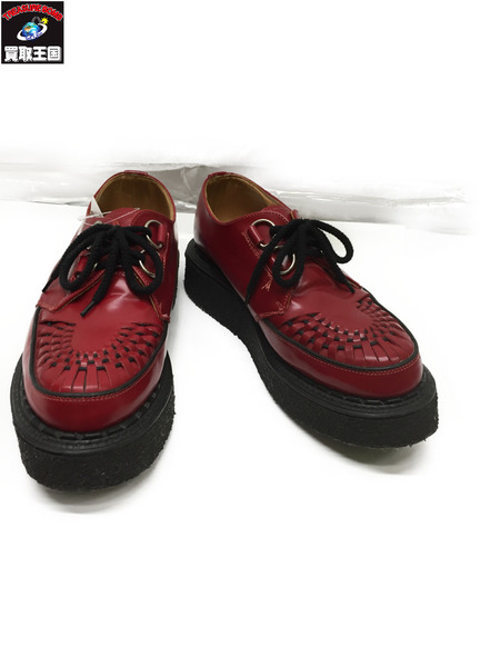 GEORGE COX ラバーソール RED size8【中古】
