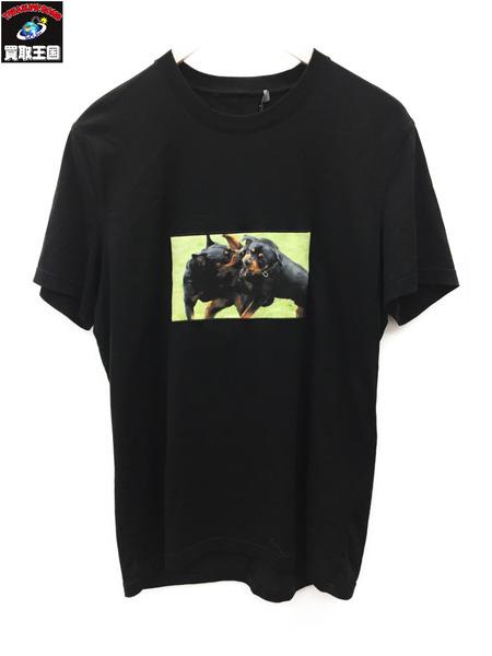 ジバンシィ 17SS Rottweiler Print T-shirt (M) 黒【中古】[値下]