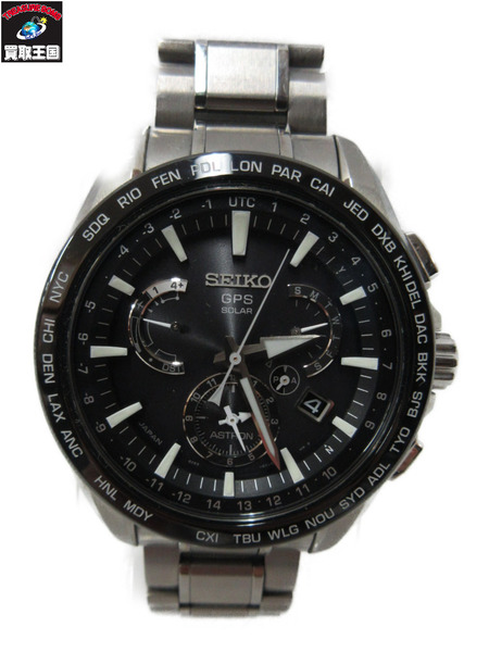 SEIKO/ASTORON/8X53-0AD0-2/SBXB077/GPS電波ソーラー/腕時計【中古】