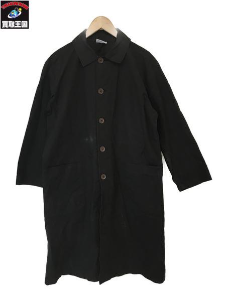 ARMEN アーメン バックポケット ステンカラーコート(1)黒【中古】
