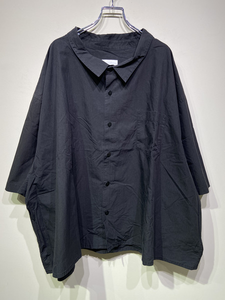 whowhat/5XL SHIRT/BLK【中古】