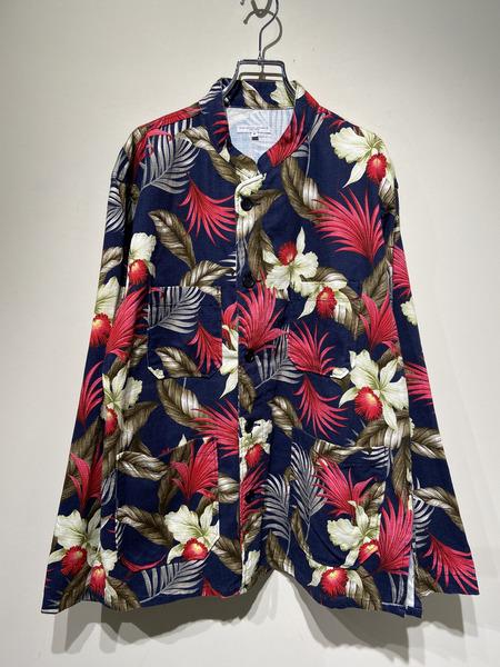 Engineered Garments/19SS/Dayton Shirt/S/HAWAIIAN FLORAL JAVA CLOTH【中古】