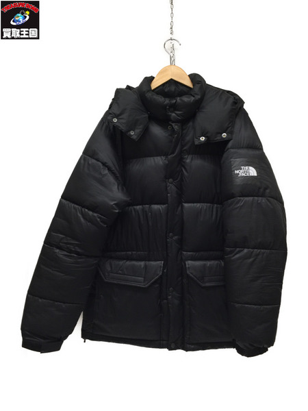 THE NORTH FACE CAMP SIERRA SHORT ダウンジャケット NY81931 BLACK L【中古】