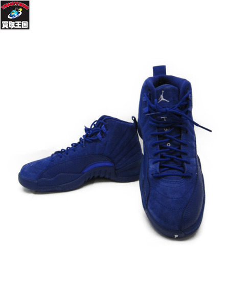 new product 0b749 efcc3 NIKE AIR JORDAN RETRO 12 DEEP ROYAL BLUE (25.5) [▼]
