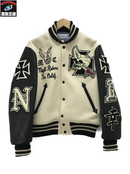 Whitesville AWARD JACKET ホワイト (38)【中古】