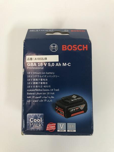 未使用 BOSCH 18V5.0AHバッテリー A1850LIB【中古】