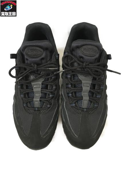 NIKE AIR MAX 95 TRIPLE BLACK 27cm 黒【中古】