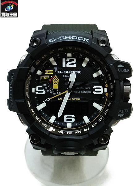 CASIO G-SHOCK/マッドマスター/GWG-1000/ソーラー電波/腕時計【中古】
