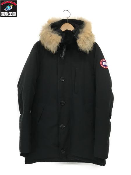 CANADA GOOSE カナダグース JASPER PARKA (S/P) ブラック ジャスパー 3438J【中古】