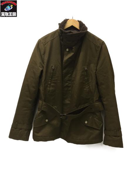 Mackintosh ボアコート Size38 オリーブ【中古】