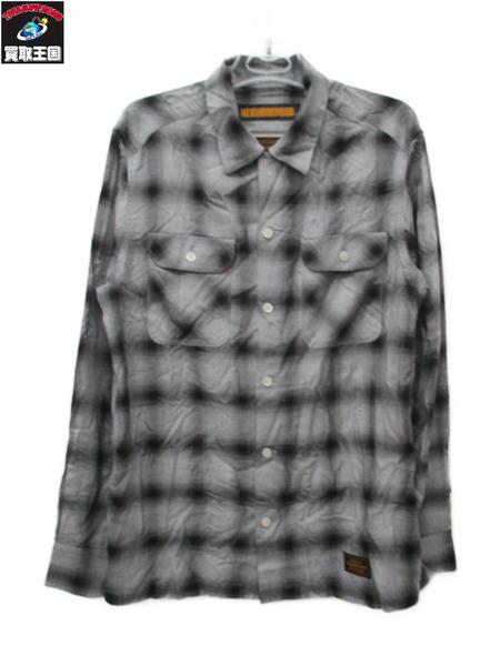 NEIGHBORHOOD ナイバーフッド チェックシャツ 18ss 181ARNH M【中古】