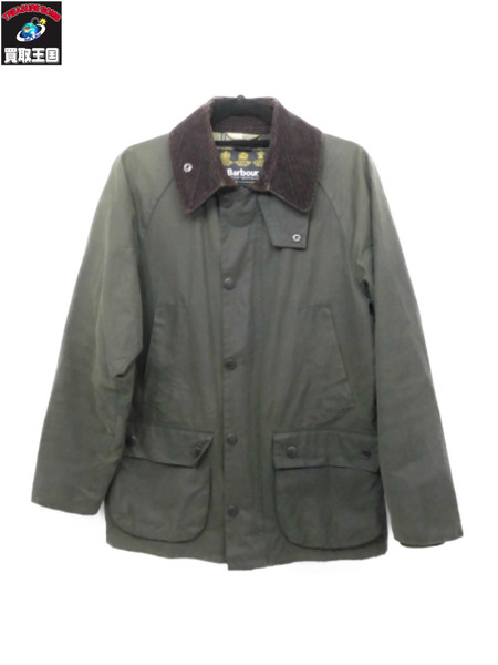 Barbour BEDALE SL/オイルドジャケット 34(XS) カーキ【中古】