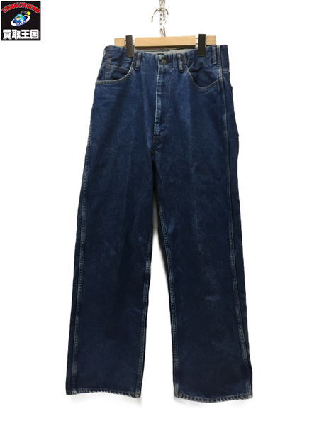WESTOVERALLS 17SS 5POCKET DENIM TROUSERS Size30【中古】