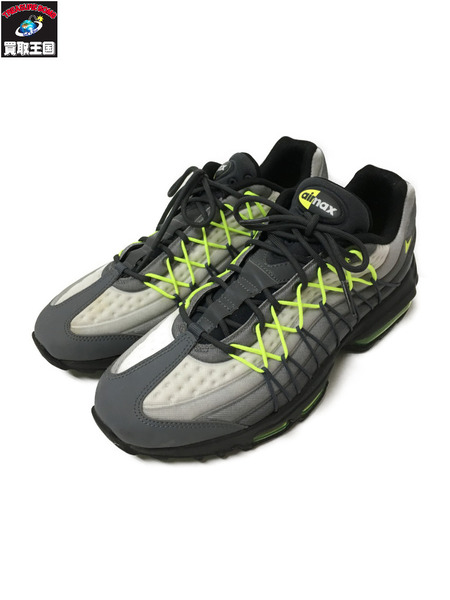 NIKE/AIR MAX 95 ULTRA SE/845033-007/26.0/イエローグラデ【中古】