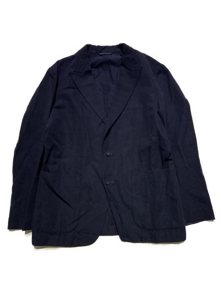 KABEL/ウールリネン3Bジャケット/3/NVY【中古】[▼]