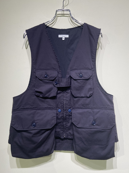 Engineered Garments/20SS/Game Vest/M/ネイビー【中古】