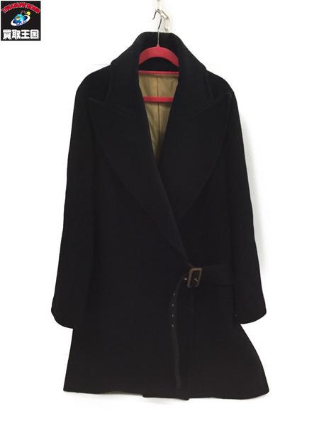 JEAN PAUL GAULTIER FEMME ウールコート 黒 40【中古】[▼]
